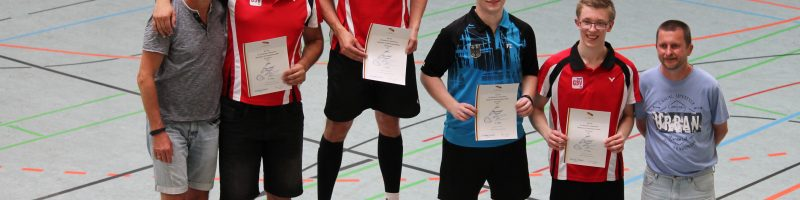 Deutsche Meisterschaften im Gehoerlosen-Badminton
