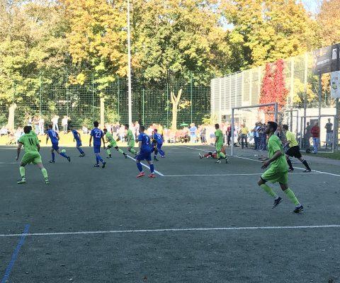 Fussball 4:2 Auswärtssieg
