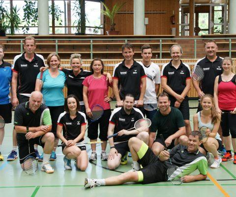 Badminton Juxturnier