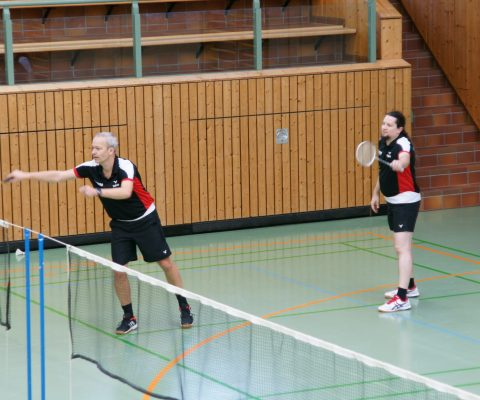 Badmintoner ohne Sieg