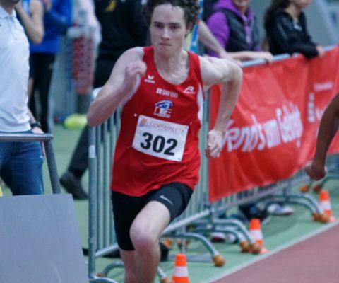 Kjetil Fischer holt Bronze bei den baden-württembergischen Hallenmeisterschaften