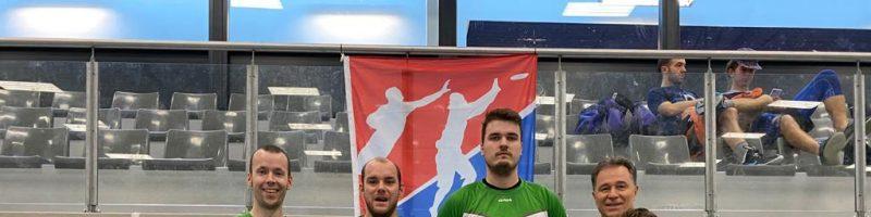 Frisbeeteam erfolgreich bei der ersten Indoor-Europameisterschaft