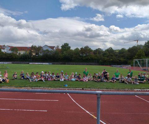 """""""Spiel und Spaß"""" beim Sommerferien-Programm des VfL Gemmrigheim"""